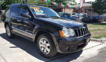 2010 JEEP GRAND CHEROKEE LIMITED HEMI 4X4 completo