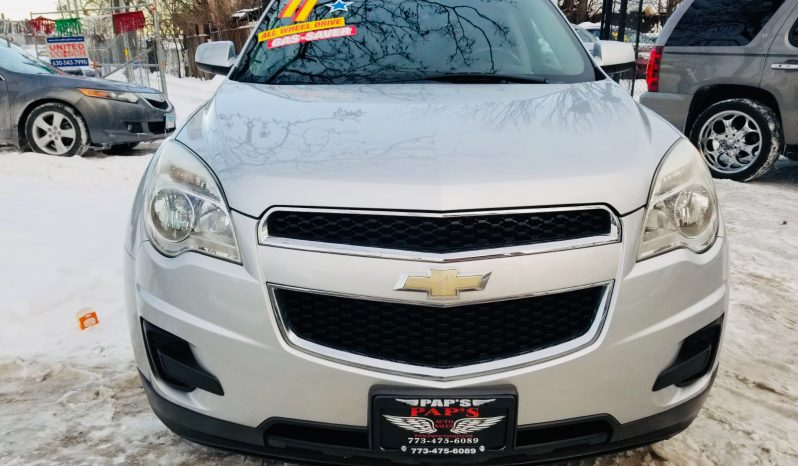 2011 CHEVY EQUINOX LT AWD completo