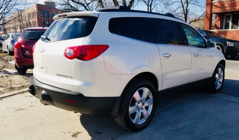 2012 CHEVY TRAVERSE LT completo
