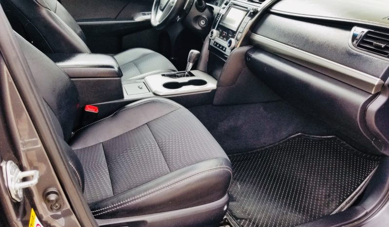 2012 TOYOTA CAMRY SE completo