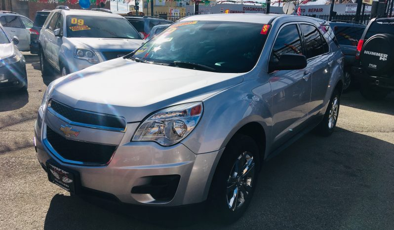 2012 CHEVY EQUINOX LS completo