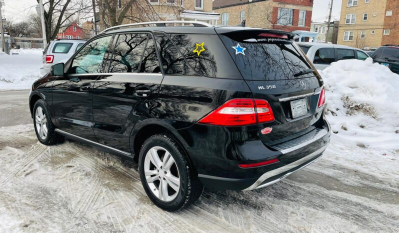 2014 MERCEDES BENZ ML350 4MATIC completo