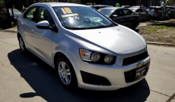 2016 CHEVY SONIC completo