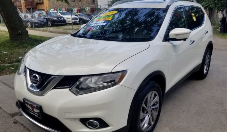 2015 NISSAN ROGUE SL AWD completo